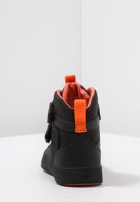 Palladium - PALLASTREET MID - Sneakers high - black/firecracker - 4