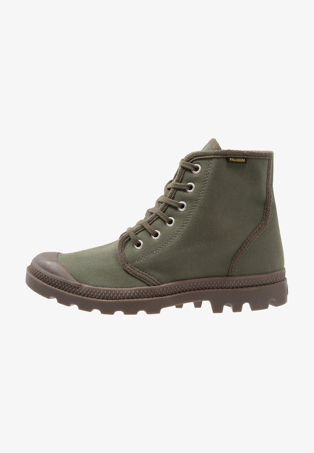 PAMPA HI ORIGINAL - Snörstövletter - olive night/black
