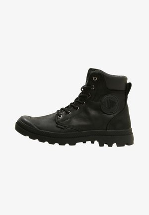 PAMPA SPORT CUFF WATERPROOF LUX - Bottines à lacets - black/black