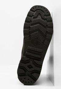 Palladium - PAMPA SPORT CUFF WATERPROOF LUX - Veterboots - black/black - 4