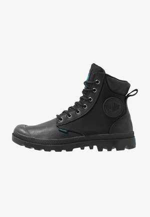 PAMPA SPORT CUFF WATERPROOF NYLON - Lace-up ankle boots - black