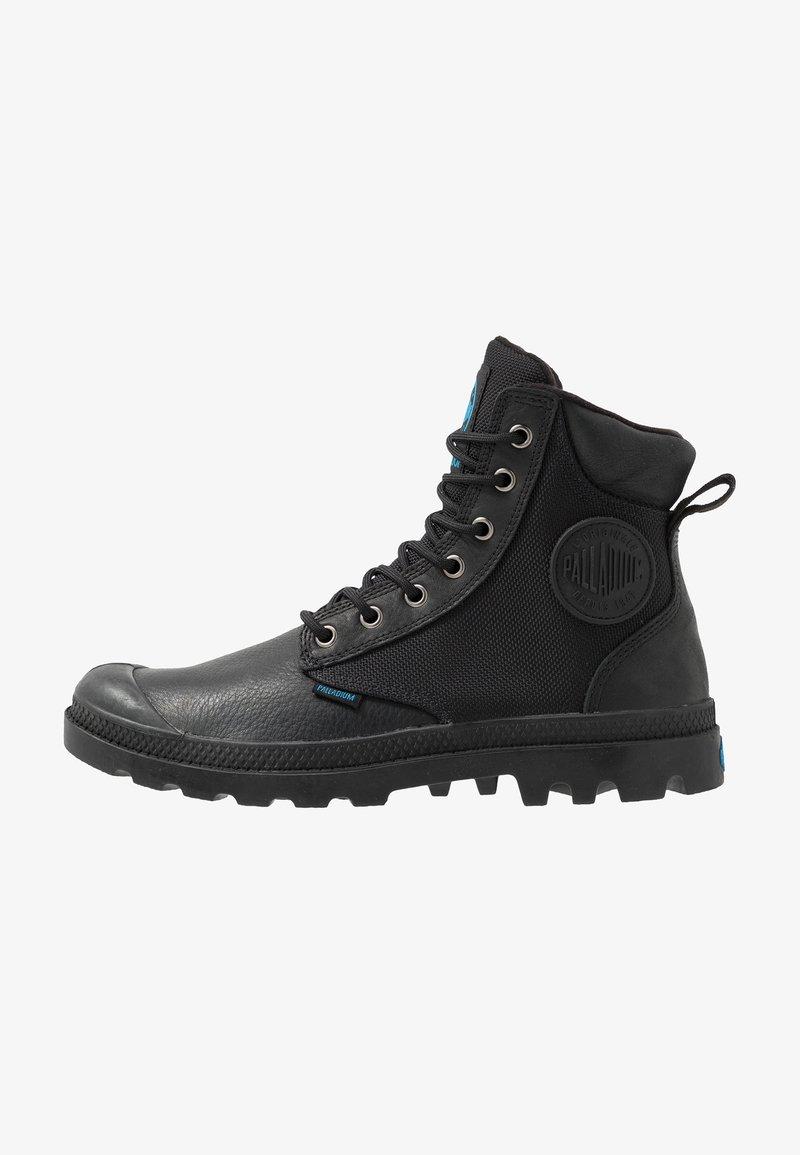 Palladium - PAMPA SPORT CUFF WATERPROOF NYLON - Lace-up ankle boots - black
