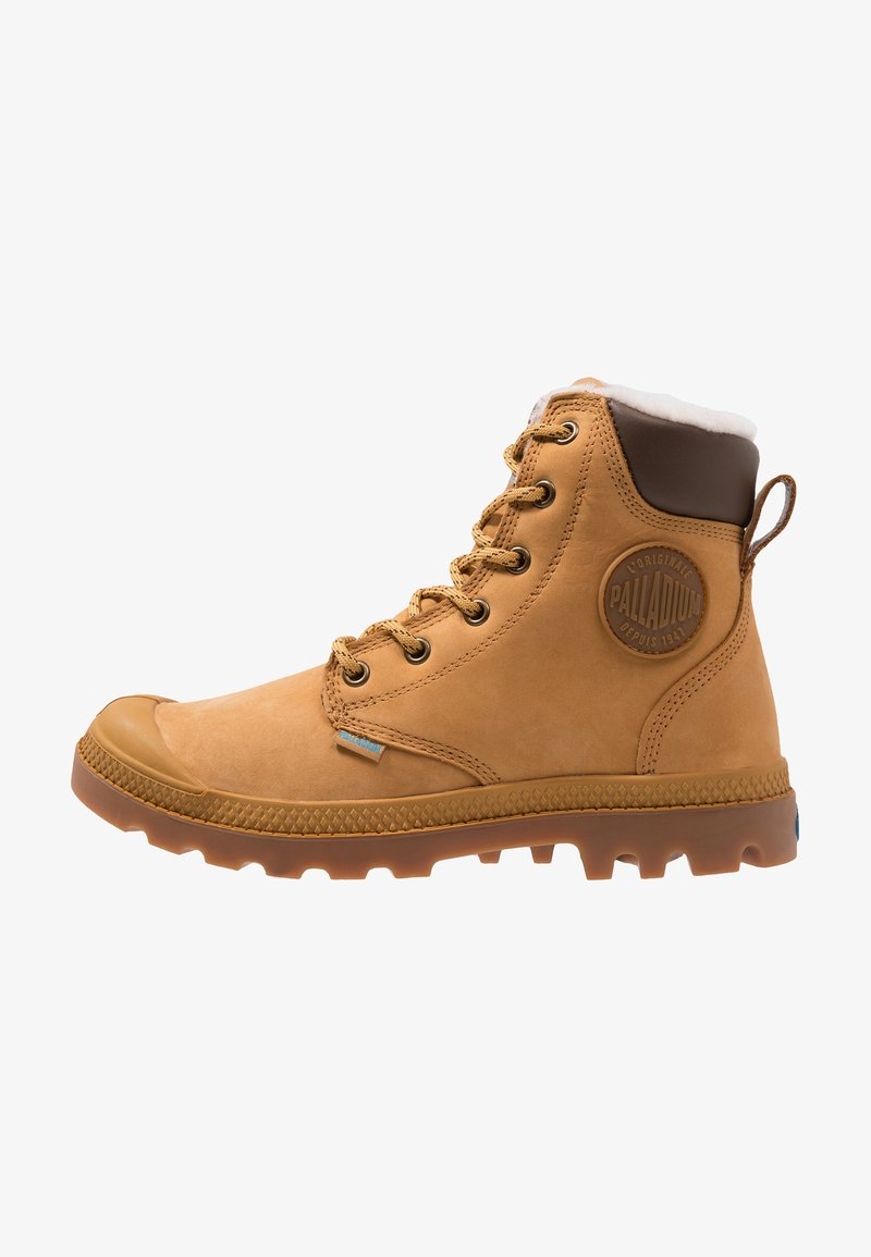 Palladium - PAMPA SPORT WATERPROOF SHEARLING - Bottes de neige - amber gold