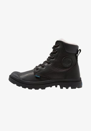 PAMPA SPORT WATERPROOF SHEARLING - Talvisaappaat - black
