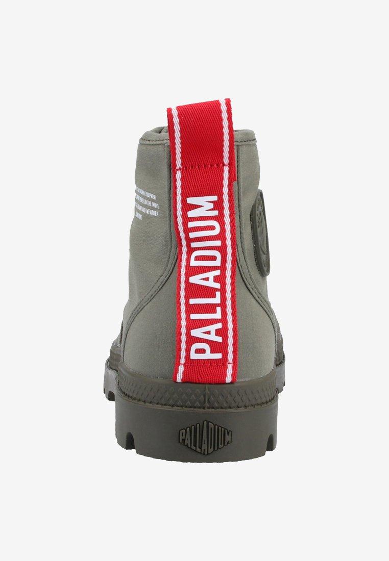 Palladium PAMPA HI DARE - Snørestøvletter - olive