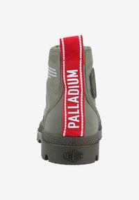 Palladium - PAMPA HI DARE - Bottines à lacets - olive - 3