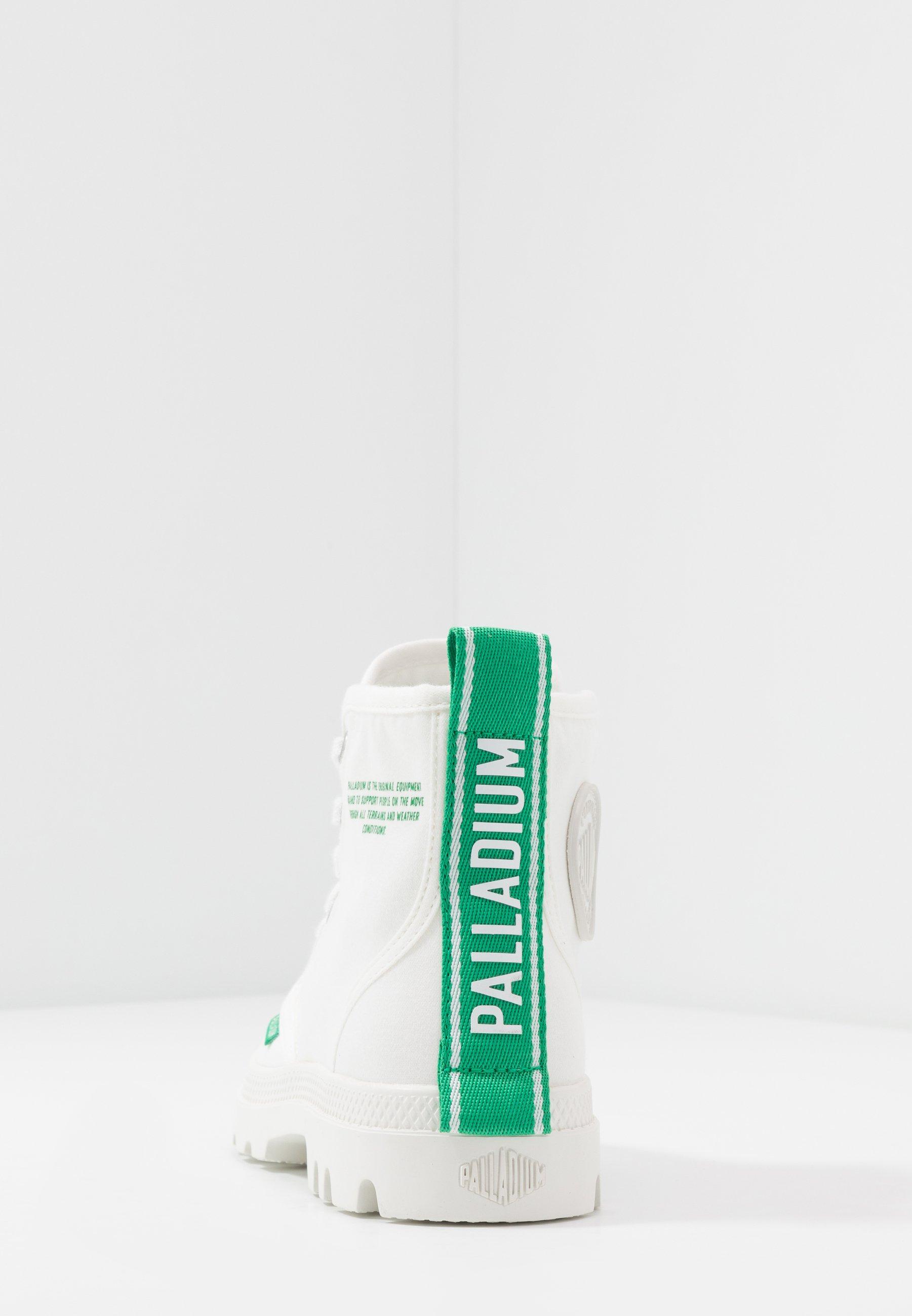 Palladium Pampa Dare Safety - Snørestøvletter Starwhite