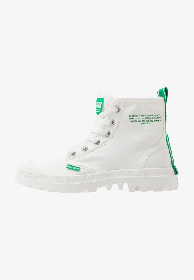 PAMPA DARE SAFETY - Lace-up ankle boots - starwhite