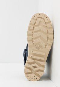 Palladium - BAGGY ORGANIC - Šněrovací kotníkové boty - mood indigo - 4