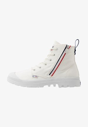PAMPA FRENCH OUTZIP - Bottines à lacets - star white