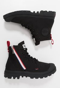 Palladium - PAMPA FRENCH OUTZIP - Lace-up ankle boots - black - 1