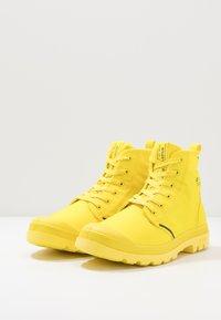 Palladium - PAMPA LITE+ WP+ - Šněrovací kotníkové boty - yellow - 2