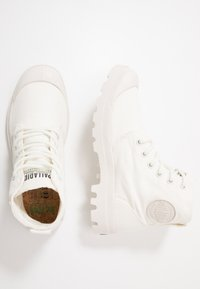 Palladium - PAMPA ORGANIC - Bottines à lacets - star white - 1