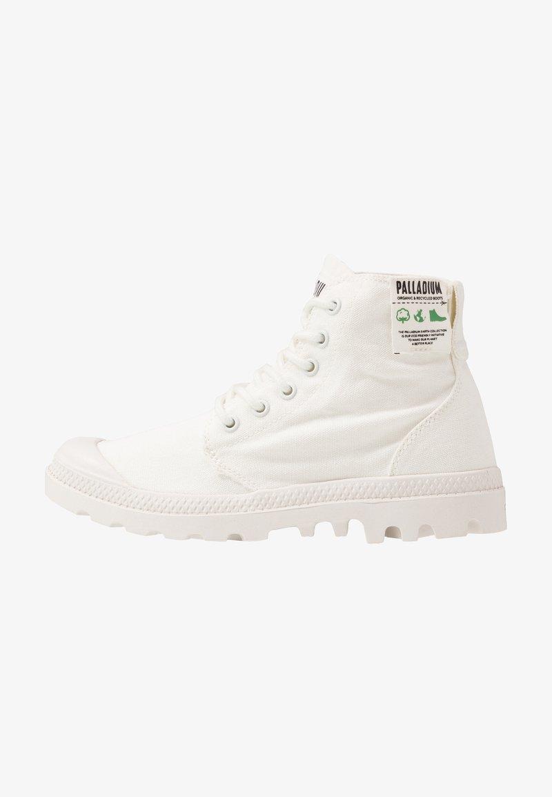 Palladium - PAMPA ORGANIC - Šněrovací kotníkové boty - star white