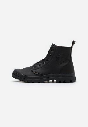PAMPA ZIP - Šněrovací kotníkové boty - black