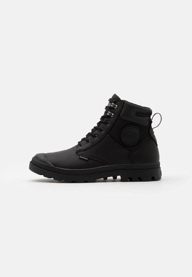PAMPA SHIELD WP - Lace-up ankle boots - black