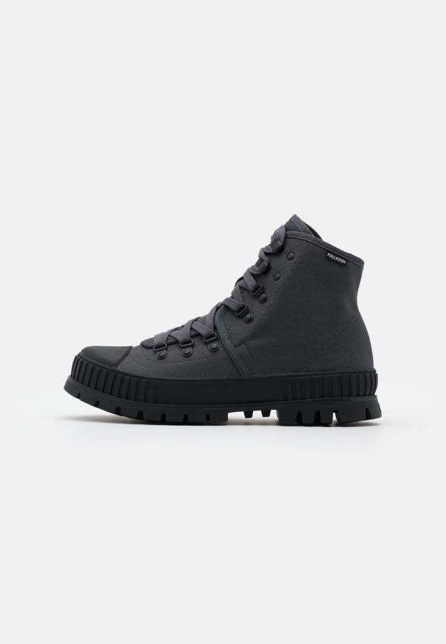 PALLASHOCK - Lace-up ankle boots - forged iron