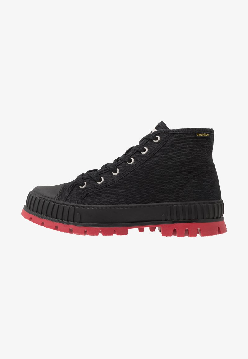 Palladium - PALLASHOCK MID - Veterboots - black/red
