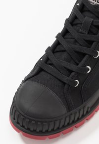 Palladium - PALLASHOCK MID - Veterboots - black/red - 5