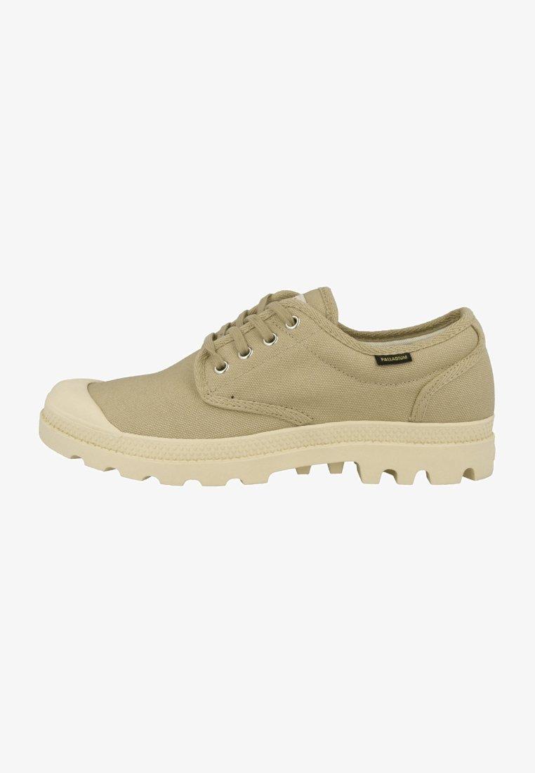 Palladium - PAMPA OXFORD ORIGINAL UNISEX - Sneakersy niskie - sahara-ecru