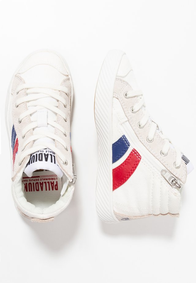 High-top trainers - star white