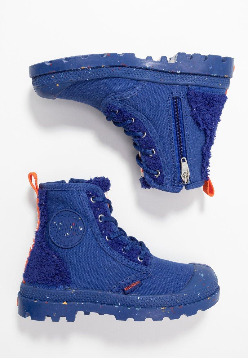 Palladium - PAMPA PILOU - Snørestøvletter - sodalite blue