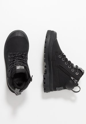 OUTSIDER WP - Lace-up ankle boots - black