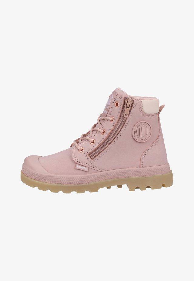 HI CUFF WP - Bottines à lacets - rose dust