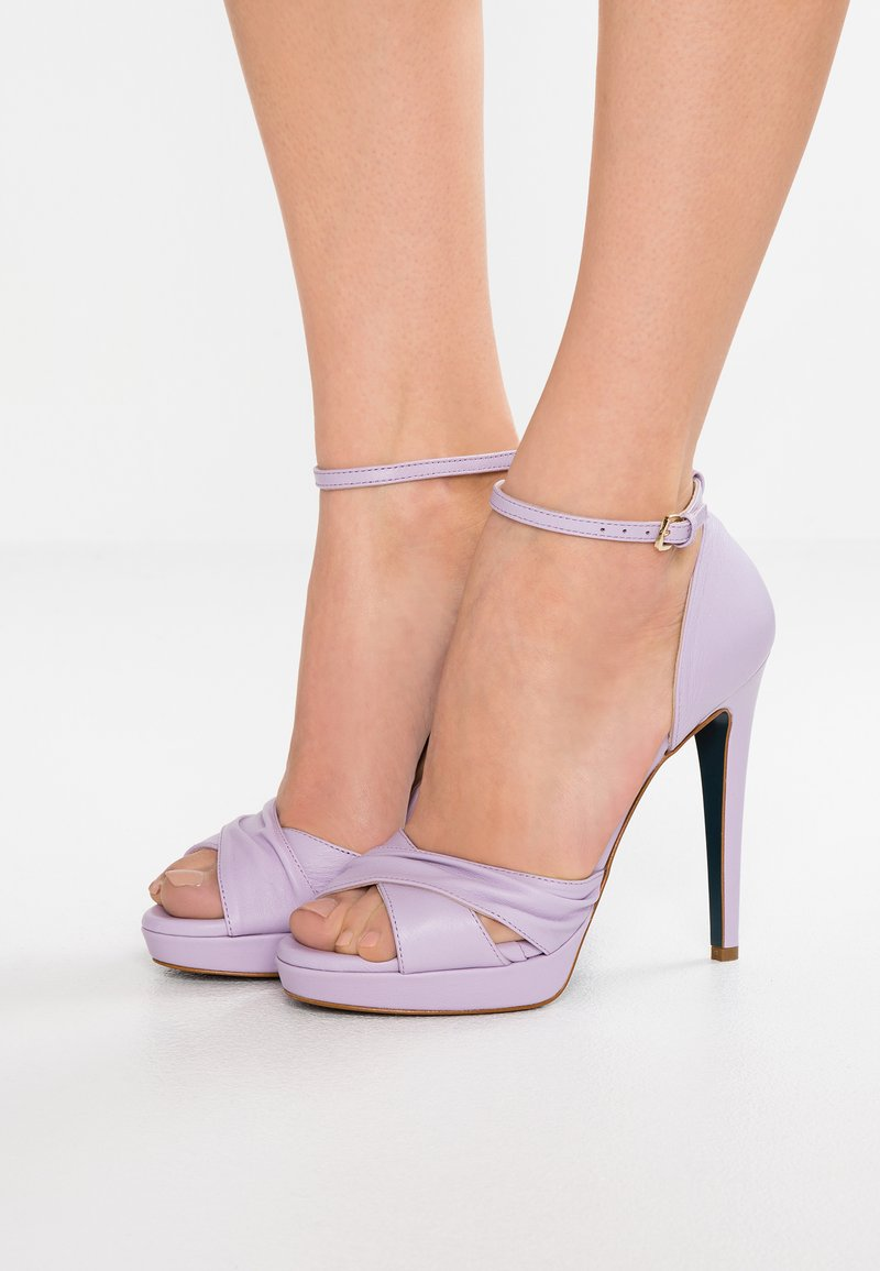 Patrizia Pepe - High heeled sandals - water lilac