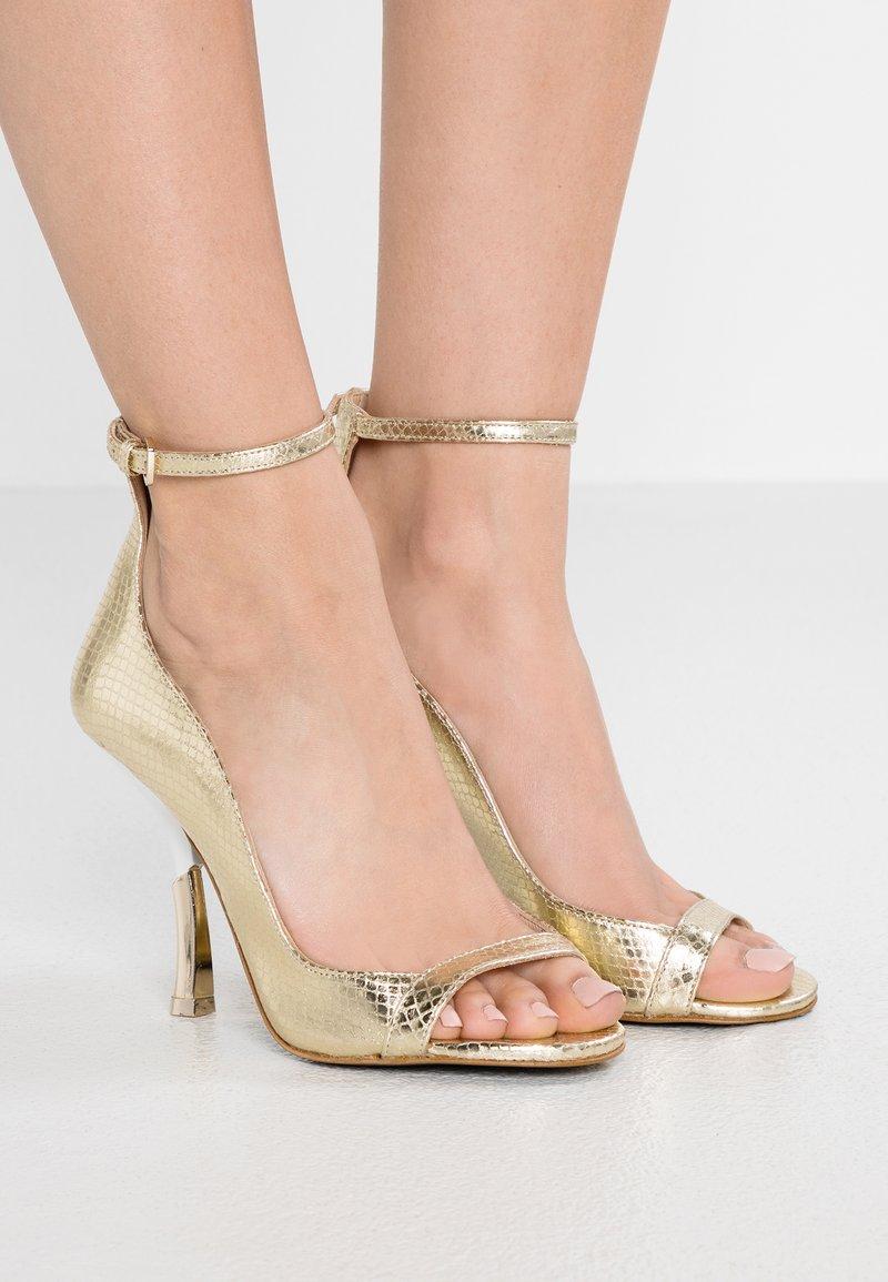 Patrizia Pepe - High Heel Sandalette - platinum