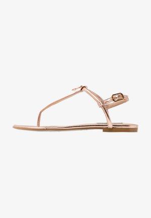 Sandály s odděleným palcem - oro/rose