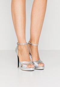 Patrizia Pepe - High heeled sandals - silver - 0