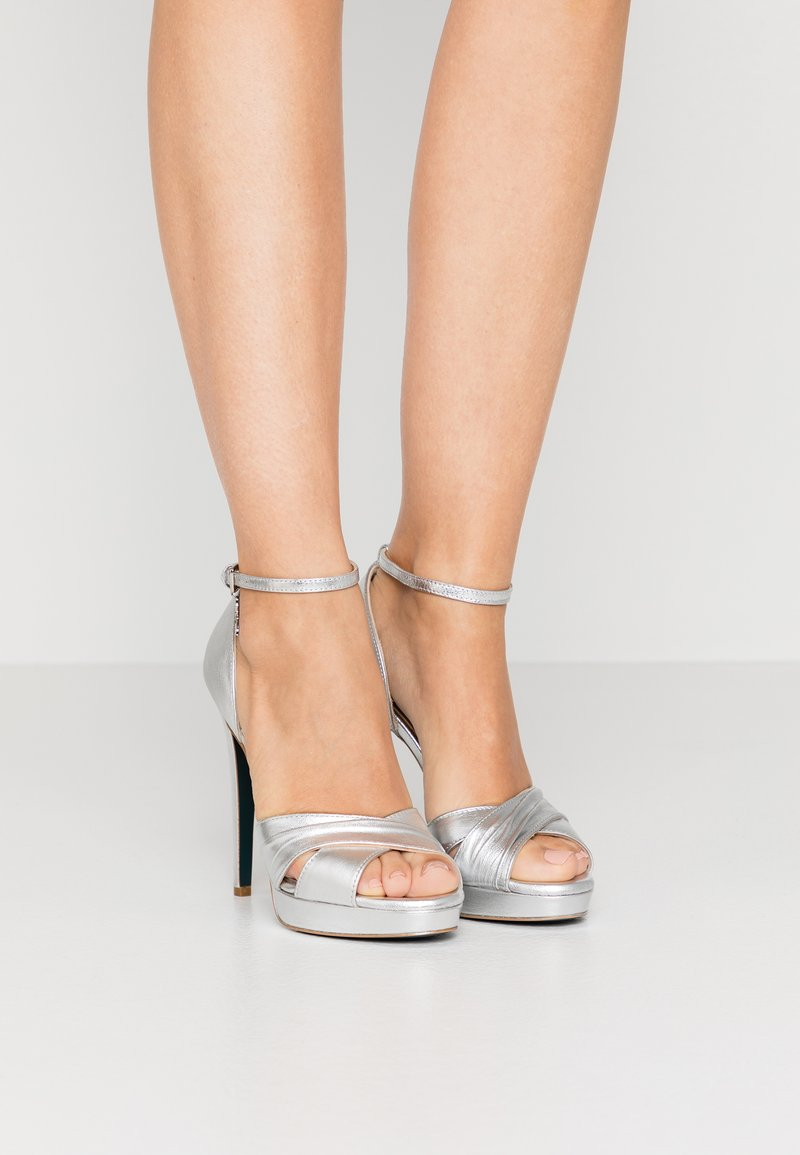 Patrizia Pepe - High heeled sandals - silver