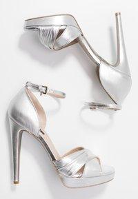 Patrizia Pepe - High heeled sandals - silver - 3