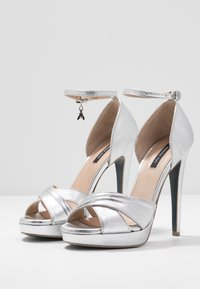 Patrizia Pepe - High heeled sandals - silver - 4