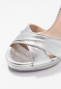 Patrizia Pepe - High heeled sandals - silver - 2