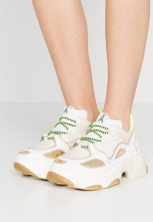 Sneakersy niskie - white metallics