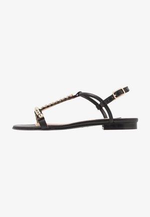 Sandály - nero