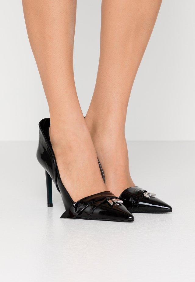 High heels - nero