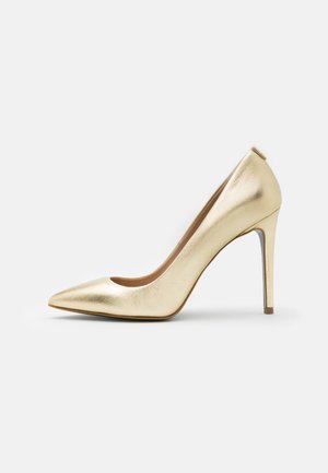 Zapatos altos - platinum