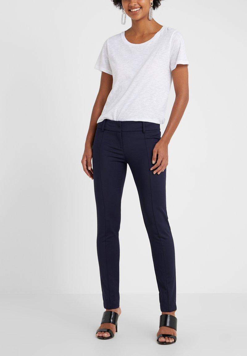 Patrizia Pepe - Spodnie materiałowe -  blue