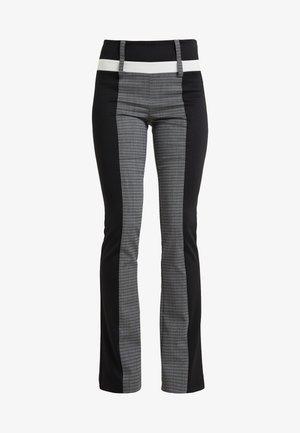 Spodnie materiałowe - black/grey