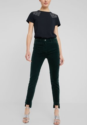 PANTALONI TROUSERS - Trousers - dark green