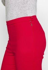 Patrizia Pepe - HIGH WAIST PANT - Bukse - flame red - 4
