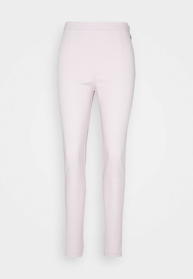 HIGH WAIST PANT - Trousers - lilac tulle