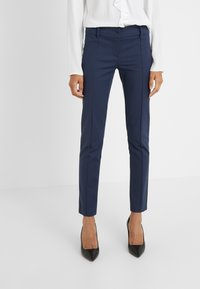 Patrizia Pepe - LOW FIT PANT - Trousers - navy - 0
