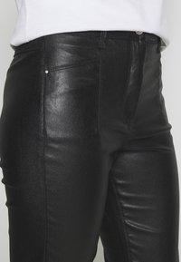 Patrizia Pepe - PANTALONI TROUSERS - Trousers - nero - 4