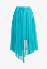 Patrizia Pepe - GONNA SKIRT - A-line skirt - turquoise - 3