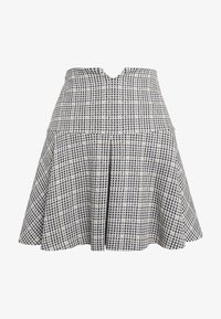 Patrizia Pepe - GONNA SKIRT - Mini skirt - black/ivory - 3