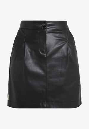 GONNA SKIRT - Spódnica mini - nero
